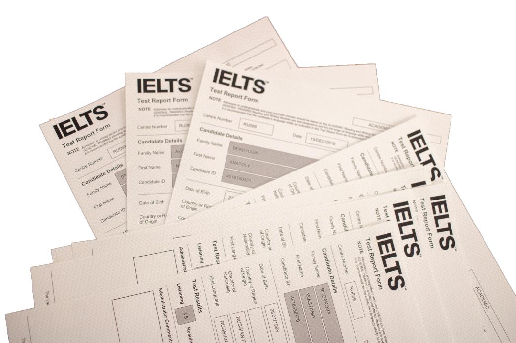 Церемония вручения сертификатов IELTS